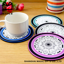 Attractive design tea cup coaster coasters for drink