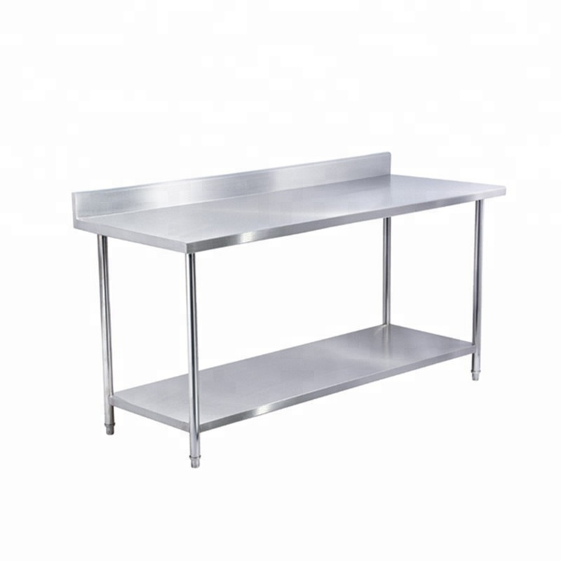"Stainless Steel 24"" X 48"" Commercial Prep Standard Worktable"