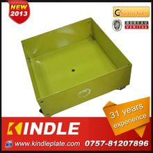 Kindle 2013 New polychrome garden half round flower pot with 31 years experience