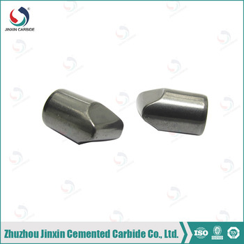 Conical type tungsten carbide buttons for rock drill bit