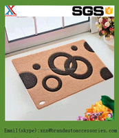 2.5kg/sqm PVC Coil Door Mat with new design made in China.