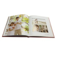 customized delicate photo baby albums hardbound book printing