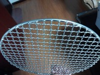 Stainless Steel Wire Mesh Barbecue Grill Basket