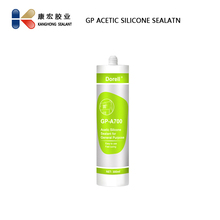 General Purpose GP Clear Acetic Silicone Sealant