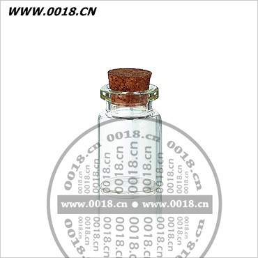 5ml clear tube antibiotic /gift glass bottle with cork stopper