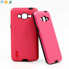 Hybrid 2 in 1 matte detachable phone case for sams galaxy mobile phone