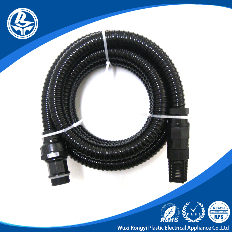 New products 2016 PVC 1 inch water pipe plastic flexible hose price