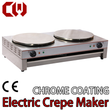 Electric CHROME COATING crepe maker scones machine pancake machine