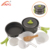 APG Camping Pot Aluminium Cookware Cook Set