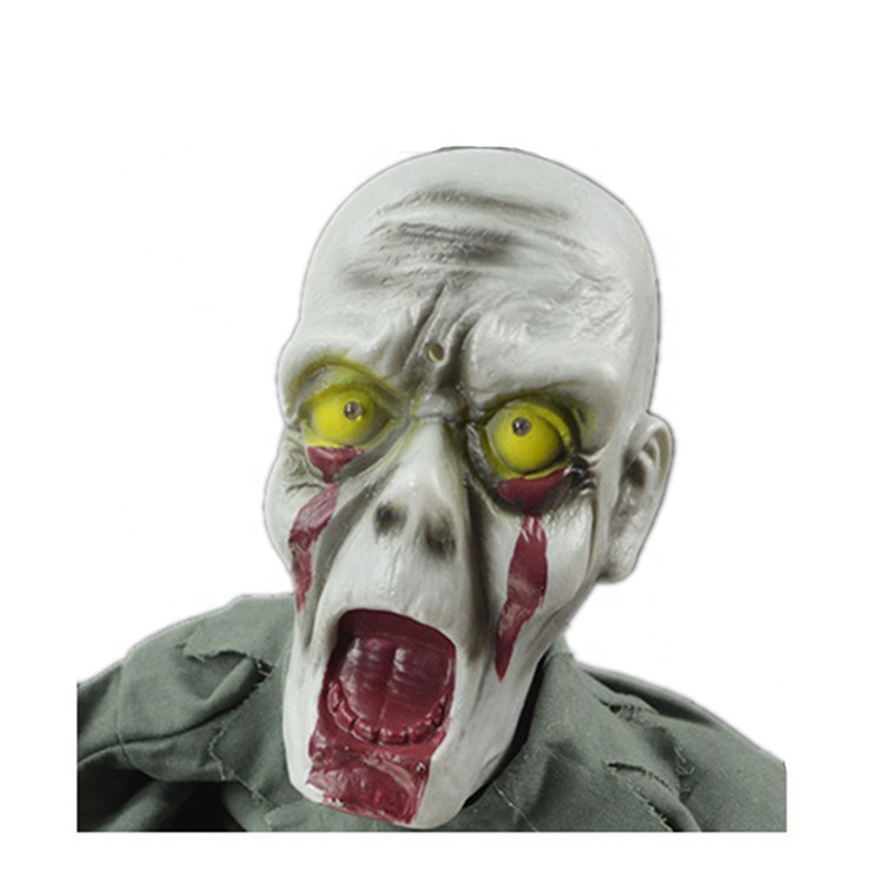 Animated halloween props sound control crawling zombie ghost