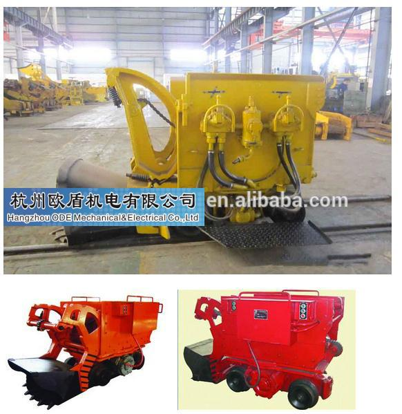 Z-17W mining rock loader/tunnel mucking machine/mucking rock loader used in mining