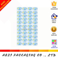 personlized printing jeans pu leather labels perforated sticker paper a4