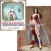 Wholesale Animal plastic Anime PVC FIGURE One Piece Boa Hancock Action Figure