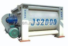 Twin shaft portable concrete mixer Mmachine concrete saw cutting equipment JS2000