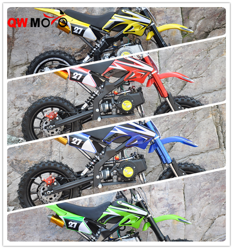 49cc Kids Mini Dirt Bike with alloy pull starter