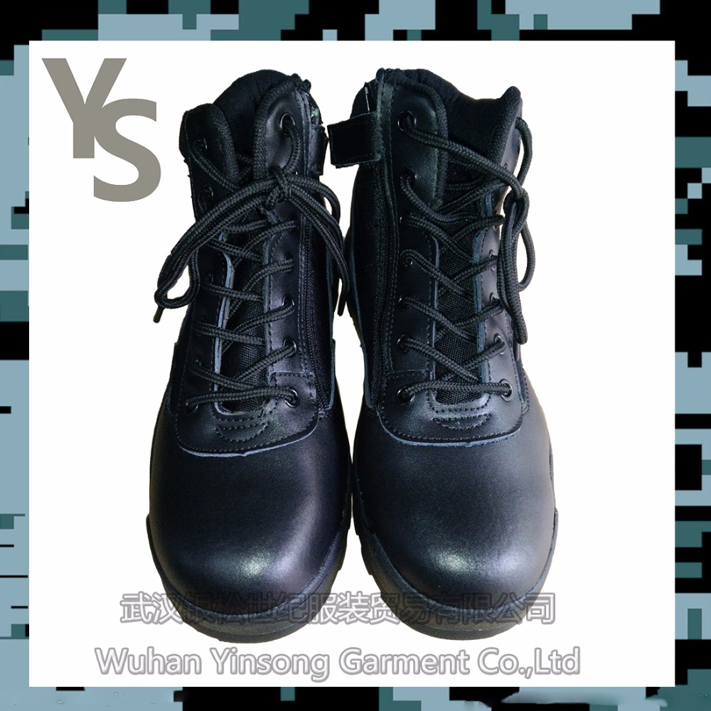 [Wuhan YinSong]Outdoor Black Fashion Army Military Tactical Battle boots