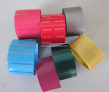 colorful tipping film printing film shoelace tipping film