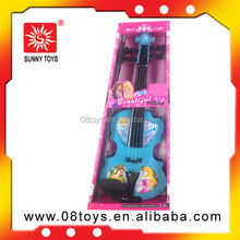 Lovely kid's plastic pink violin toy plastic violin