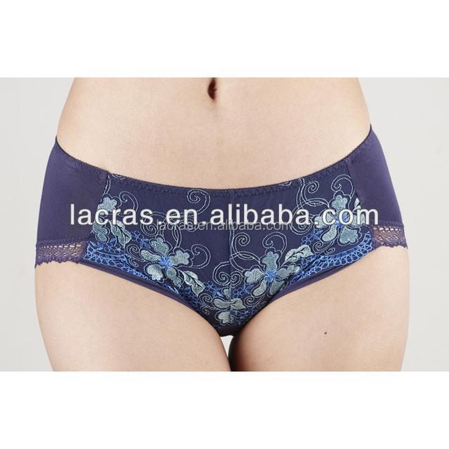 2017 New design Sexy Lace printing ladies women underwear lady panties