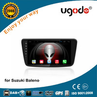CE/Emark android 4.4/5.1 touch screen car gps navigation for suzuki baleno