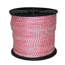 1/4-Inch by 1000-Feet Floating Hollow Braid polypropylene Polypro Rope, Red and White