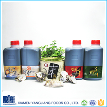 Wholesale food seasoning organic oyster sauce and fish sauce