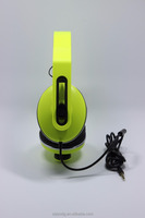 colorful stereo wired headset headphone for mobile ,computer, mp3