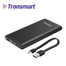 2017 Tronsmart Presto 30W Quick Charge 3.0 Micro USB 10000mAh Power Bank w1 Quick Charge Port Compatible withQuick Charge 2.0