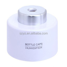 Blue Mini Ultrasonic Portable Water Bottle Cap mini air humidifier as seen on tv