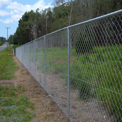 hot dipped galvanized steel how to instal a chain link fence with great price