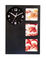 2014 Promotional Wall Clocks with picture frame