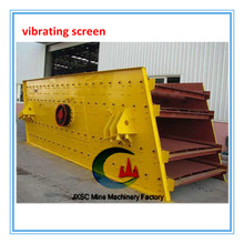 sand vibrating screen for processing and refining the coal mineral