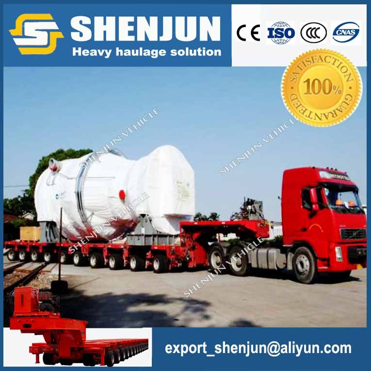 Heavy haul 100-500 ton hydraulic module trailer for sale