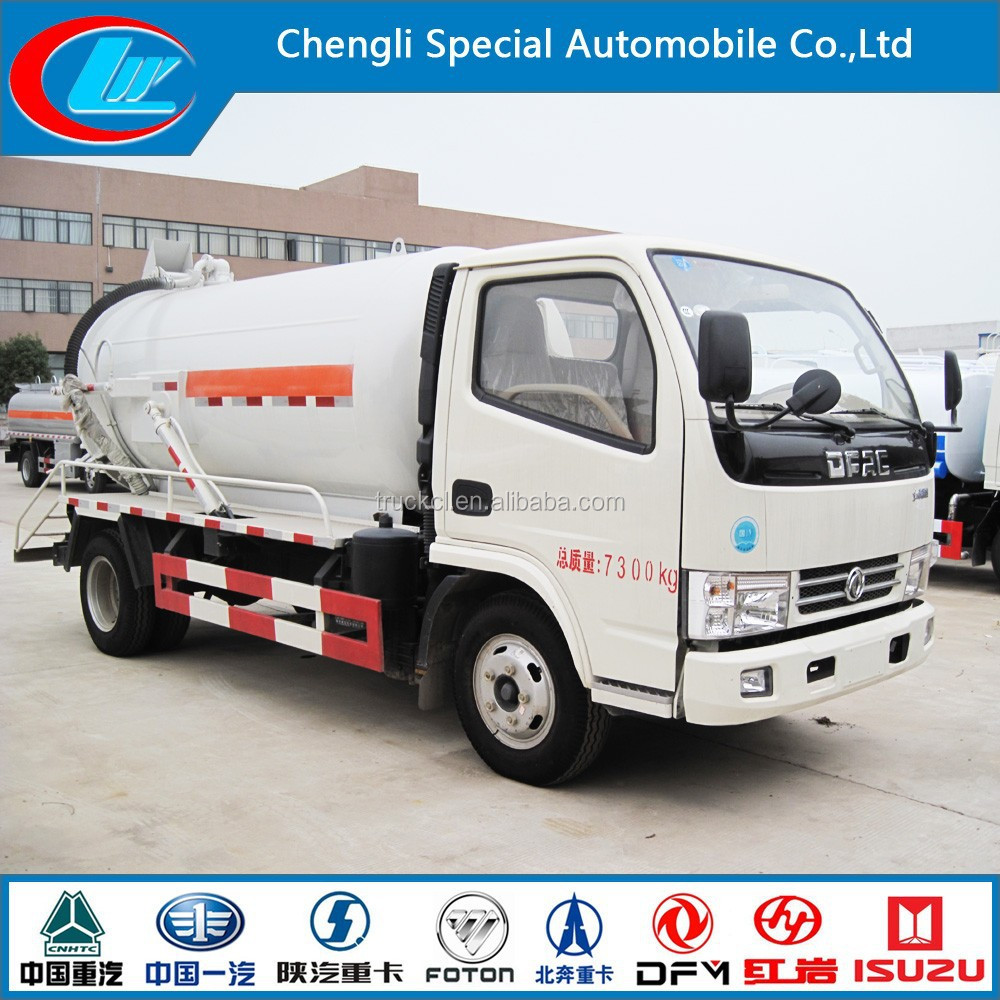China Factory Make Dongfeng fecal suction truck 12ton sewage truck dongfeng 6cbm 7cbm 8cbm dongfeng used septic tank trucks