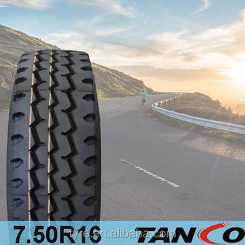Low price cheap 7.50R16 truck tyre/tires