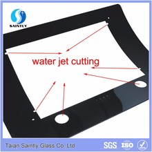 China factory produce 12mm bent tempered glass