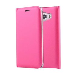 in stock leather flip mobile phone case for samsung j510 j710