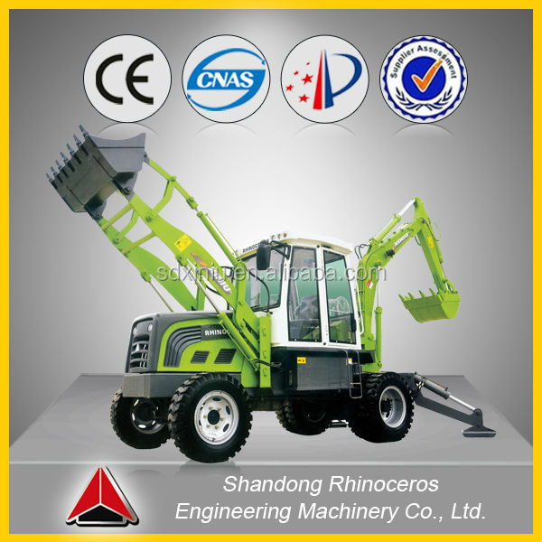 small farm machine cheap tractor backhoe loader with price, 4x4 Agriculture Tractor Loader Backhoe