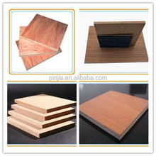 wholesale 3/4/8/6mm both side wood grain mdf board for backboard