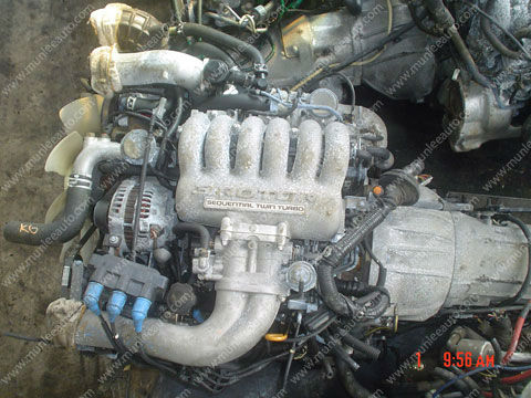 JDM USED ENGINE WITH GEARBOX FOR CAR MAZDA COSMO 20B 3 ROTARY