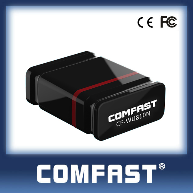 Best Seller 2016 COMFAST CF-WU810N 150mbps 2.4GHz Wlan Usb Dongle