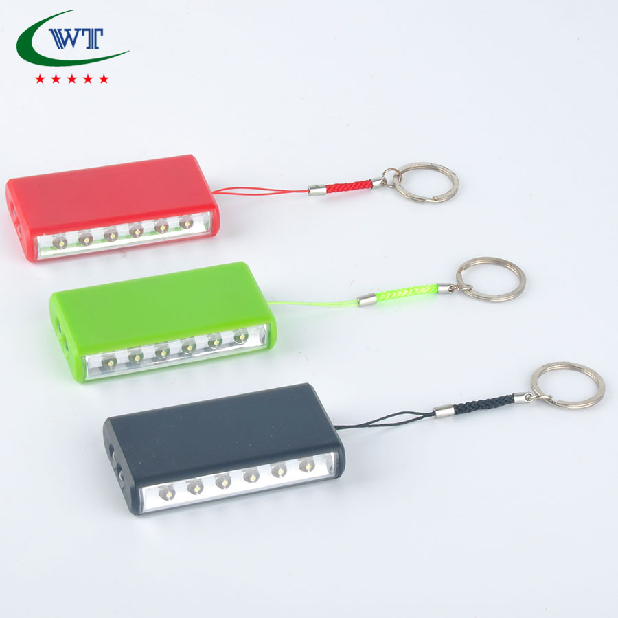 Led Promotional Flash Key Light With Key Ring
