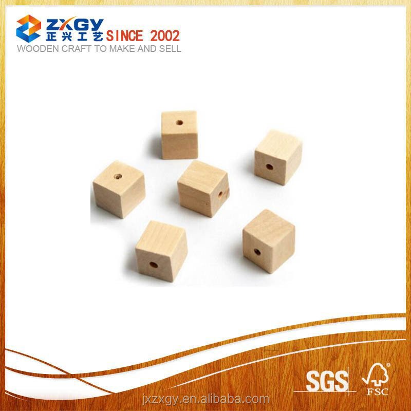 2017 Wholesale High Quality Drilled Wooden Blocks with Competitive Price