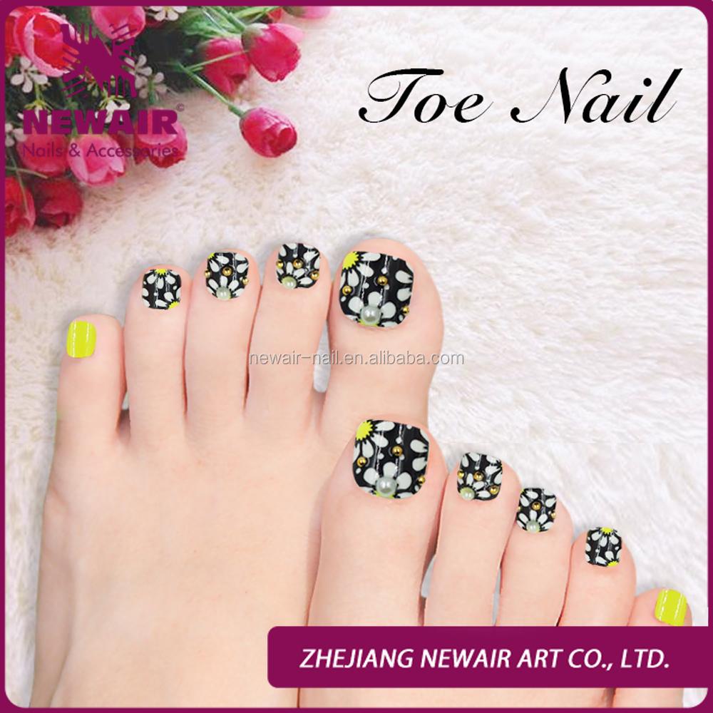 24pcs False Pro Toe Nail Tips Fake Toe Tips - Buy False Toe Nail ...