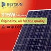 King star solar panel manufacturing machine/China good price poly 280w 300W 315W solar panel 36V with CE TUV