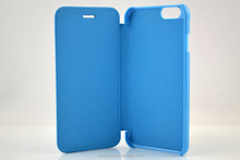 PU leather case for iPhone 5S folio slim case Shenzhen manufacturer