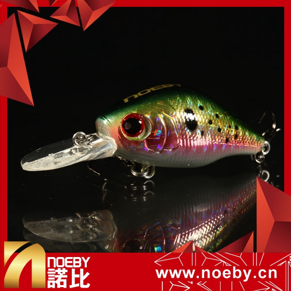 Unpanited Blank Saltwater Fishing Lure Bodies for Crankbait