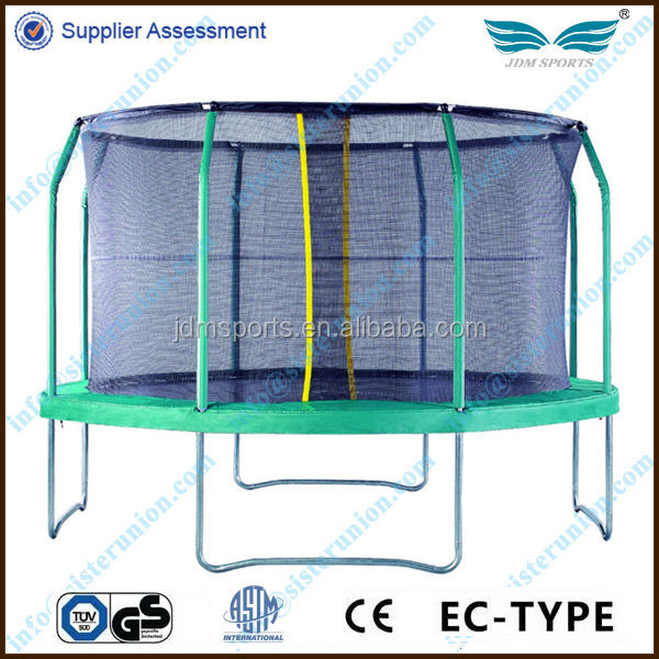 JDM 2014 outdoor trampolines for sale biggest trampoline