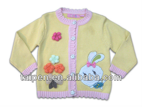 New lovely candy color infant baby CardiganGirls Sweater Design For autumn & winter