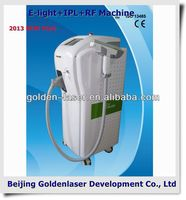 2013 New design E-light+IPL+RF machine tattooing Beauty machine hair beauty carrying cases